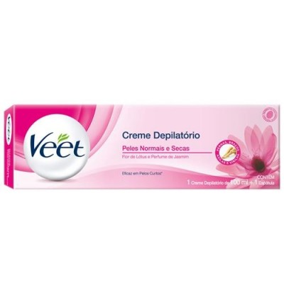 VEET CR DEPILATORIO CORPORAL PELE NORMAL 100ML+ESPATULA