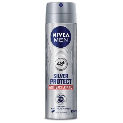 NIVEA DESOD AERO FOR MEN  SILVER PROTECT 150ML