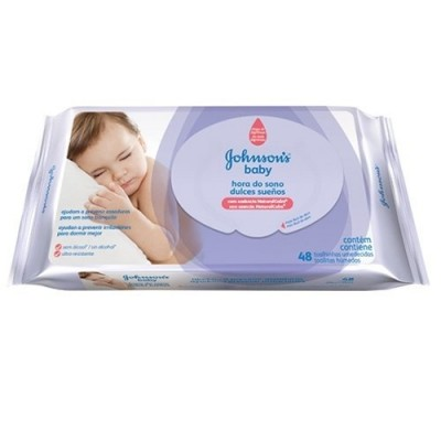 J&J BABY LENCO UMED HORA DO SONO C/48