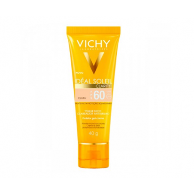 VICHY IDEAL SOLEIL FPS60 CLARIFY C/COR CLARA 40GR