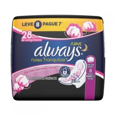 ALWAYS ABS NOT PINK SUAVE C/ABAS LV8 PG7