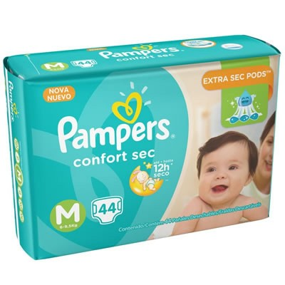 PAMPERS CONFORT MEGA M C/44
