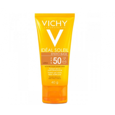 VICHY IDEAL SOLEIL FPS50 CLARIFY C/COR MEDIA 40GR