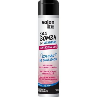SALON LINE COND S.O.S BOMBA DE VITAMINAS 300ML