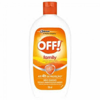 OFF REPELENTE LOCAO FAMILY 200ML
