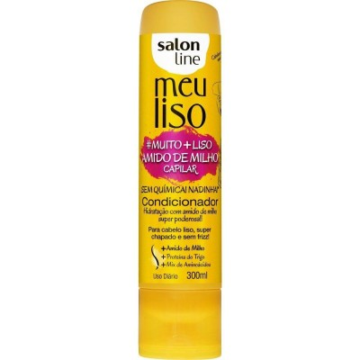 SALON LINE COND MEU LISO 300ML