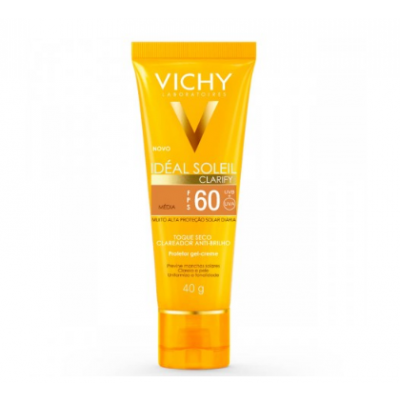 VICHY IDEAL SOLEIL FPS60 CLARIFY C/COR MEDIA 40GR