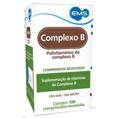 COMPLEXO B C/100CPR