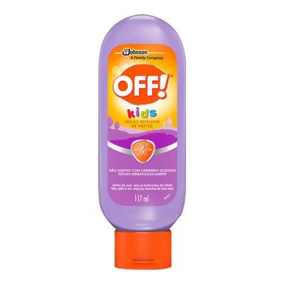 OFF REPELENTE KIDS LOCAO 117ML