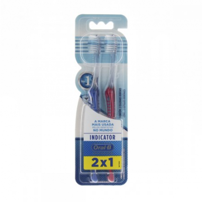ORAL-B ESC DENTAL INDICADOR 2*1 MACIA 30