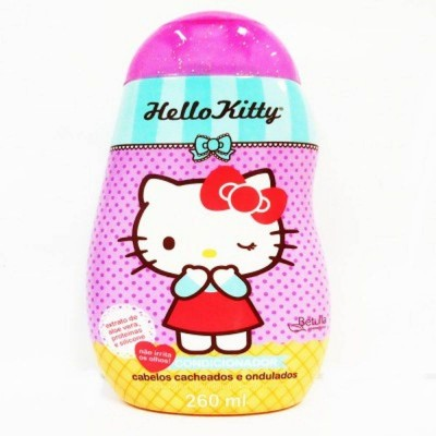 HELLO KITTY COND CAB CACHEADOS E ONDULADOS 260ML