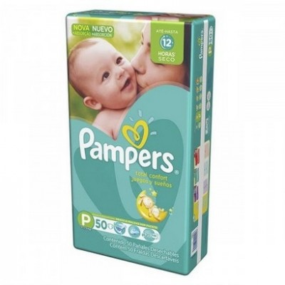 PAMPERS CONFORT MEGA P C/50