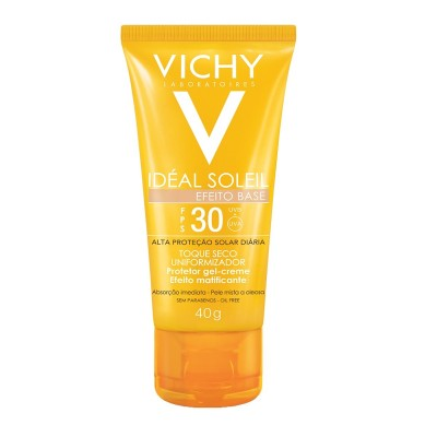 VICHY IDEAL SOLEIL FPS30 EFEITO BASE 40GR