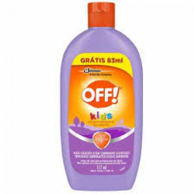 OFF REPELENTE KIDS LOCAO 200ML